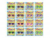 Очки-розыгрыш, пластик, 16х5х1см , 12 дизайнов