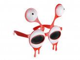 Очки карнавальные, пластиковые, 15,5х16,5 см в форме глаз