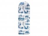 Город Чехол для гладильной доски на шнурке, хлопок, подкладка хлопок, 130х50см