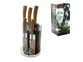 Набор ножей 6 предметов  FOREST LINE на акрил подст