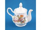 Чайник 0,8л для заварки РОМАНС Букет цветов
