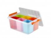 Ящик детский для игрушек 410x295x183мм 15л ПРОФИ КИДС