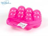 Контейнер для яиц на 10 шт. Микс разноцветный. М1210