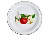Блюдо 2,0л эмалированый с рисунком АРОМАТНЫЙ