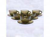 Набор чайный 12 предметов 6 чашек 6 блюдец 220мл ДЫМ ЭКЛИПС СИМПЛИ