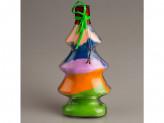 Сувенир декоративная бутылка c солью цветной №36