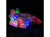 Гирлянда 16 ламп новогодняя 2,5м новый год 220v