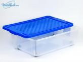 Ящик для хранения 30 л.  на роликах. ПЦ2564