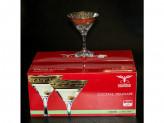 Набор 6 бокалов для мартини барокко арт.eav63-410