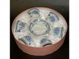 Набор чайный 12 предметов 220мл фарфор, подарочная упаковка YK 18а22