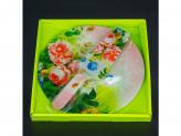 Набор для торта, стекло 2 предмета d 25 s3010-2pdq-s104