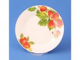 Тарелка десертная 20,0см №8 КЛУБНИКА т8-7792