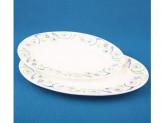 Блюдо овальное 35,3см 30,2см набор 2 шт ЗАВИТКИ SJ-HYP-140-120-0178