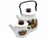 Набор чайников ЙОГУРТ 3,5л и 1л белый N23B44