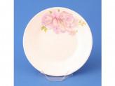Тарелка десертная 17,5см РОЗОВЫЕ РОЗЫ С057