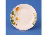 Тарелка десертная 20,0см №8 РОМАШКА т8-7869