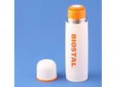 Термос 0,75л узкое горло с кнопкой цветной BIOSTAL NB-750C-R
