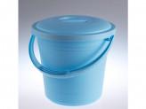 Ведро пластик 13л для пищевых продуктов с крышкой бриз