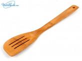 Лопатка для приготовления пищи 30 см. Бамбук. 41609