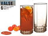 Набор 6 шт. стаканов для сока 210 мл. VALSE. 42943