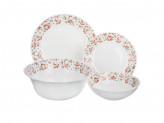 """Набор столовой посуды 13 предметов, опаловое стекло, """"Майя"""""""