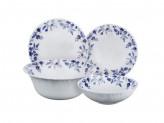 """Набор столовой посуды 19 предметов, опаловое стекло, """"Таис"""""""