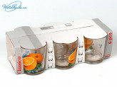 Набор стаканов 6 шт. 200 мл Апельсин. 05c1249