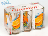 Набор стаканов 6 шт. 230 мл Апельсин. 05c1256ап