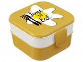 Контейнер детский для обеда (0,4л+0,4л) М1232