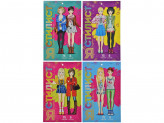 Блокнот с многоразовыми наклейками Я стилист, бумага, ПВХ, 15х22, 5х0, 2см, 4 дизайна ЮТОН
