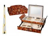 Столовые приборы 72 предмета в деревянном чемодане Zillinger ZL-854 Leona