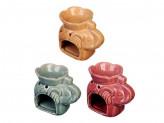 Аромалампа в виде слона, керамика, 10,5х8,5х7 см, 3 цвета