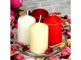 LADECOR Свеча столбик 6х15 см, 4 цвета