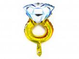 Шар фольгированный в виде кольца