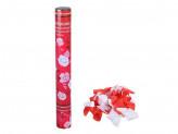 Лепестки роз хлопушка пневматическая, 40см, бумага, металл
