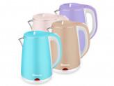 Чайник электрический sa-2150wbl 2.2 голуб молочн д