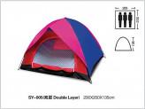 89495 Палатка 2 слоя 3 места 200*200*135 sy-005 (шт.)