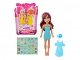 Набор игровой маленькая куколка с аксесс., 3пр., аромат, пластик, 12х9х2, 3см, 4 дизайна