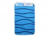 Коврик для ванной, акрил, 50x80см, голубой, 3 дизайна