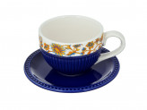 "Чайный сервиз 2 предмета, керамика, MILLIMI ""Ноктюрн"""