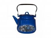 "Чайник 3,5л эм синий с рисунком   ""ВОЛОГОДСКИЙ СУВЕНИР"""