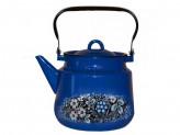 "Чайник 2,0л эм синий с рисунком   ""ВОЛОГОДСКИЙ СУВЕНИР"""