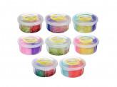 Слайм, в наборе 4 цвета, 8, 5х4см, полимер, 2 дизайна, 6-8 цветов