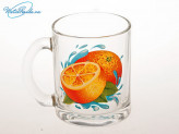 Кружка 300 мл чайная Апельсин