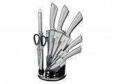 Мартелл Набор ножей кухонных 8предмета, ручки хром, акриловая подставка
