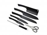 Амбер Набор ножей кухонных 8предмета, акриловая подставка