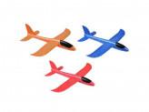 Самолет-планер, полимер, 37х9х35см, 3 цвета