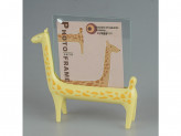 "Фоторамка-подставка ""жирафик"" 12см. 4цв. 2000203830013,"
