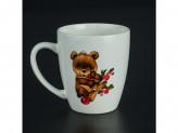 Кружка керамический  260см утенок медвежонок