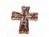 Сувенир керамический  христианский крест  81560